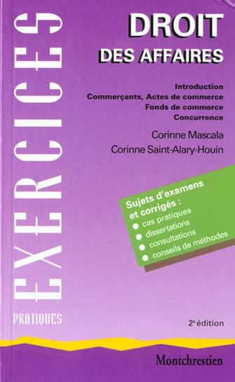 Droit D. Affaires Actes Commerce