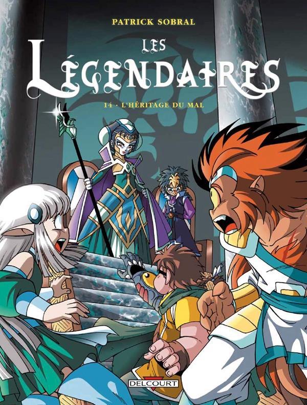 Les Legendaires T.14 ; L'Heritage Du Mal