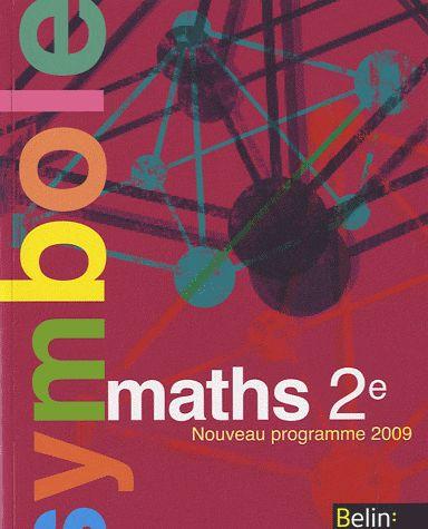 Math 2e 2010 Livre Eleve Pf