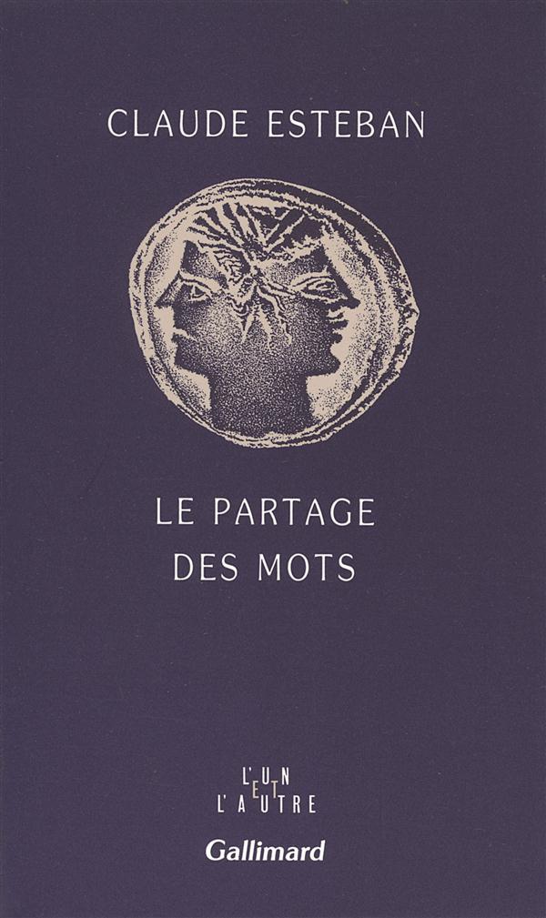 LE PARTAGE DES MOTS