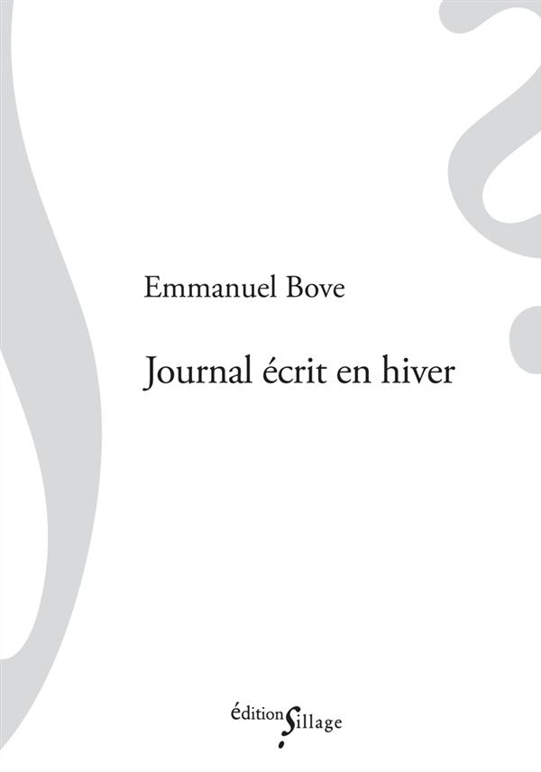 JOURNAL ECRIT EN HIVER