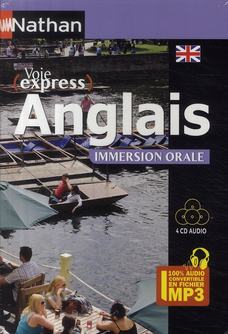 Pack 4 Cd Audio Voie Express Anglais Immersion Orale - 2009