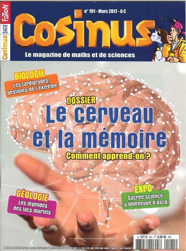 Cosinus N 191 Le Cerveau Mars 2017