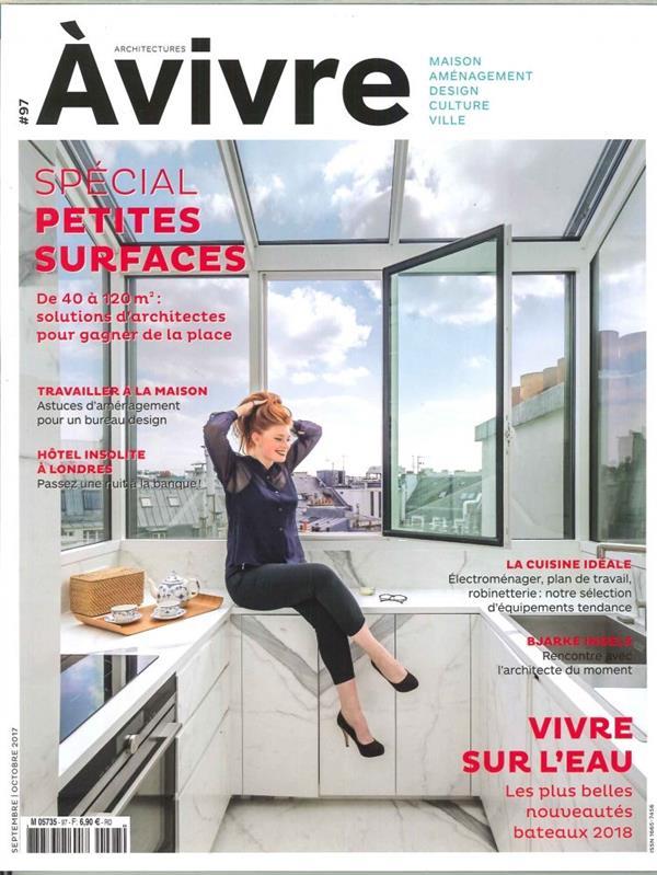 Architectures A Vivre N 97 Sept. 2017 - Petites Surfaces