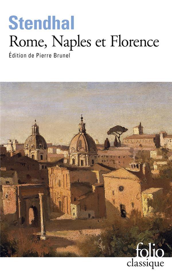 ROME NAPLES FLORENCE   PREF P. BRUNEL