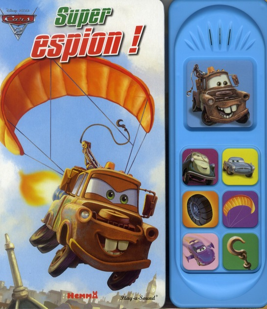 Cars 2 ; Super Espion !