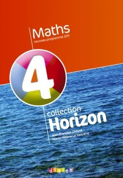 Horizon; Mathematiques ; 4eme ; Manuel De L'Eleve