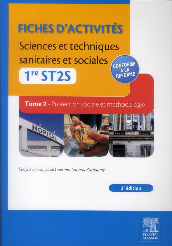Sciences Et Techniques Sanitaires Et Sociales ; 1ere St2s ; Poles 2 Et 3 ; Td-Tp (3e Edition)