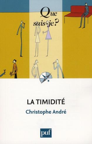 La Timidite (3e Edition)