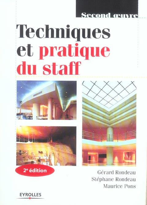 Techniques Et Pratique Du Staff 2eme Edition 2005