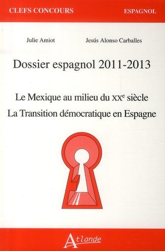 Dossier Espagnol 2011