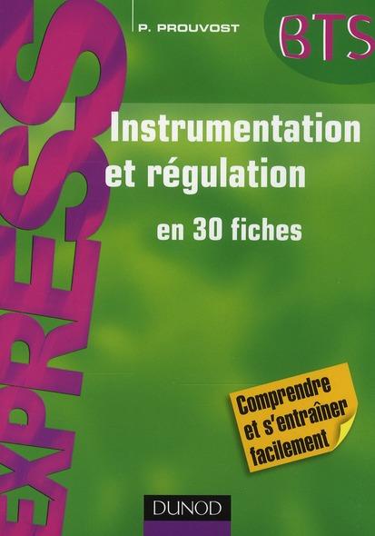 Instrumentation Et Regulation - En 30 Fiches