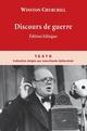 DISCOURS DE GUERRE (EDITION BILINGUE)