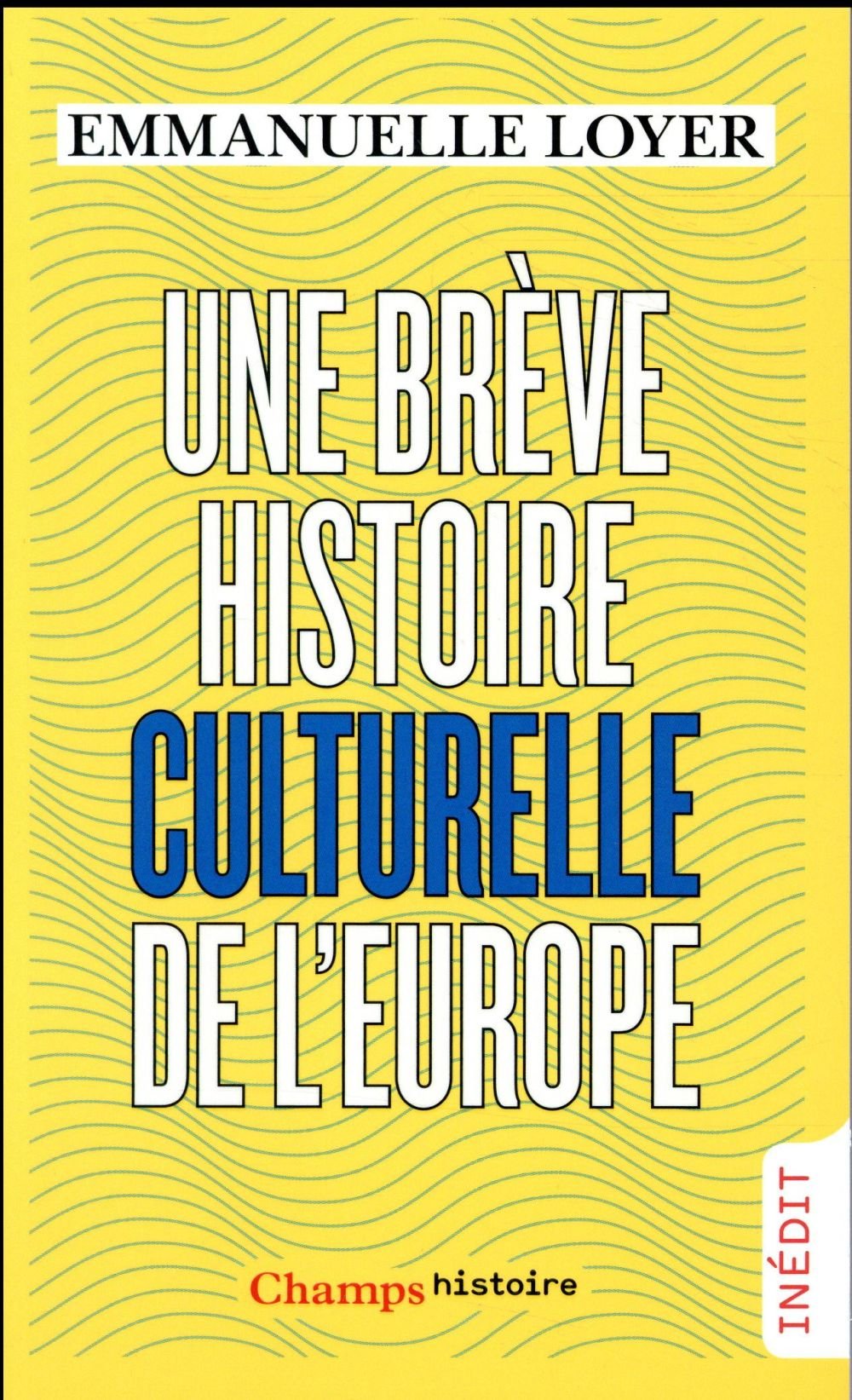 Une brève histoire culturelle de l'europe