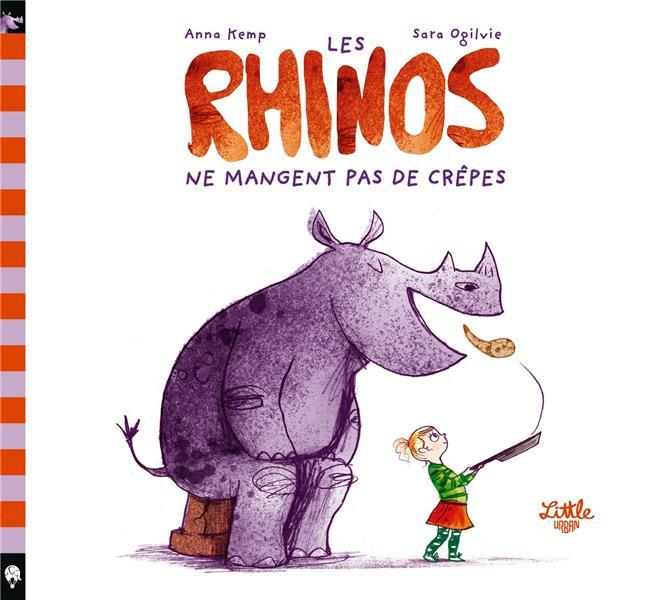 Les rhinos ne mangent pas de crêpes