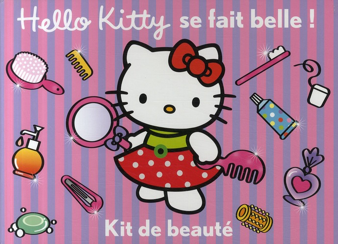 Hello Kitty Se Fait Belle ! Kit De Beaute