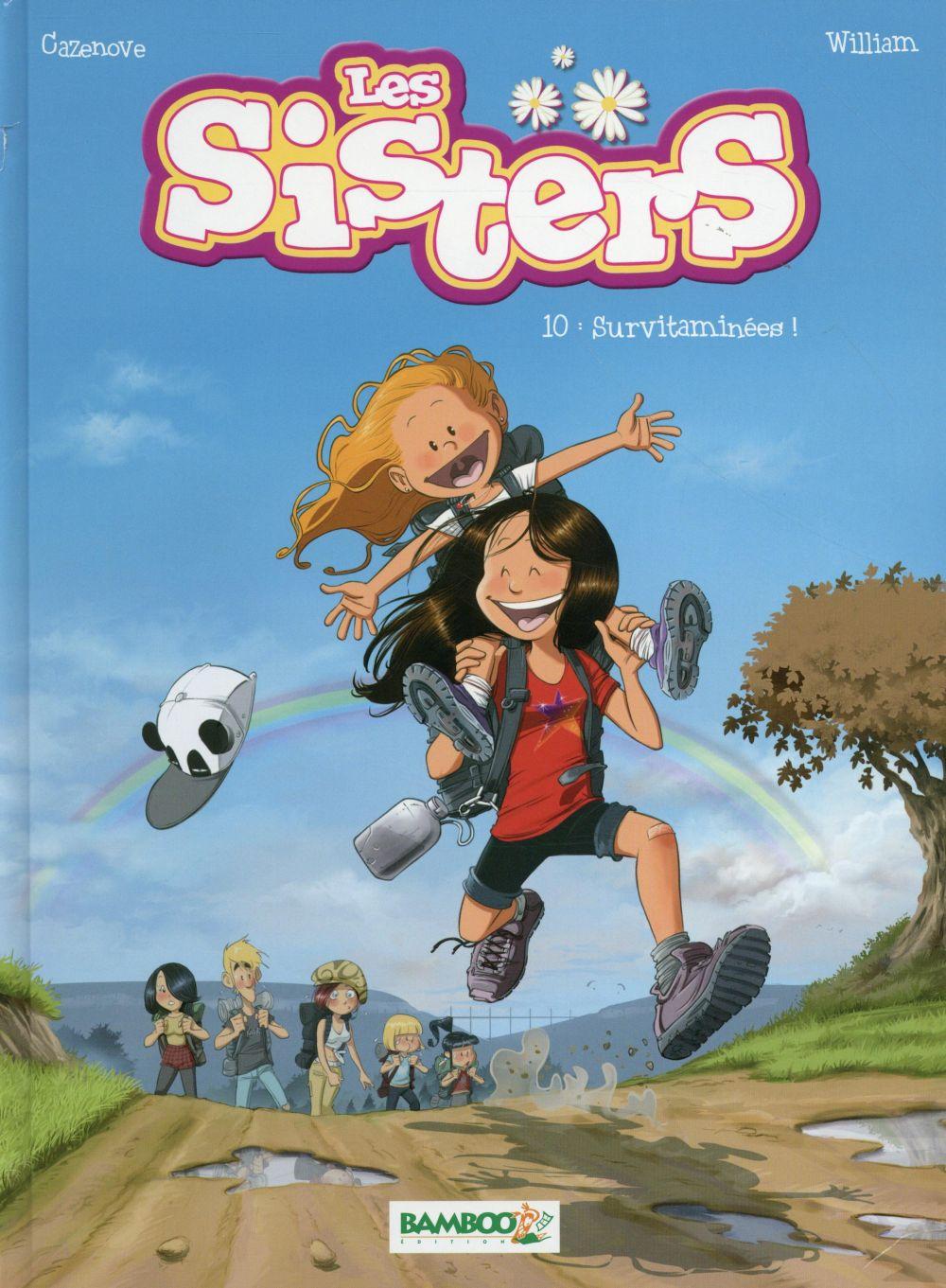 Les Sisters. 10, Survitaminées ! / Christophe Cazenove | Cazenove, Christophe (1969-....)