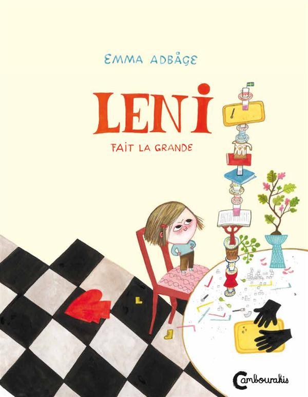 Leni fait la grande / Emma Adbage | Adbåge, Emma (1982-....)