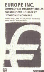 Couverture de Europe Inc.(Poche) Nouvelle Edition