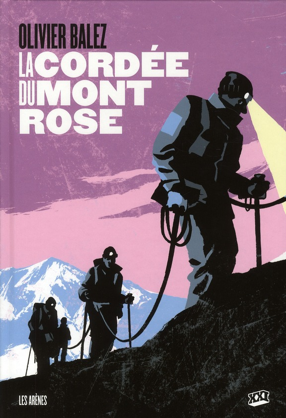 La cordée du mont rose