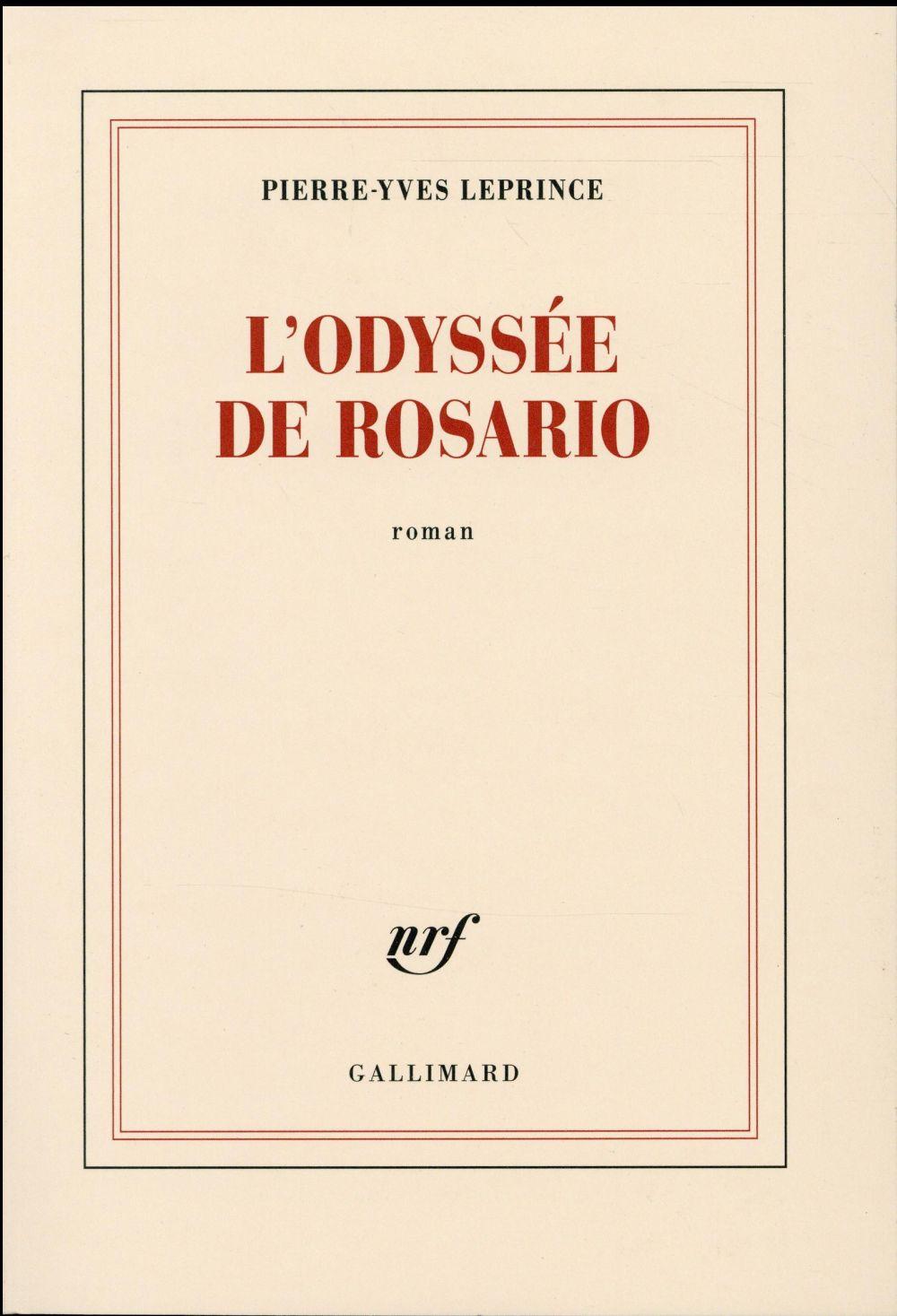 L'odyssee de Rosario