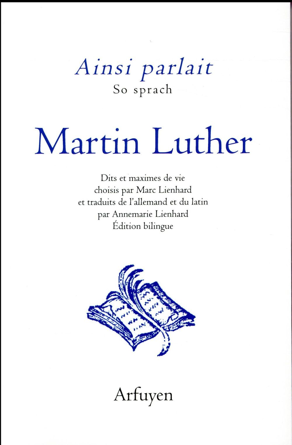 AINSI PARLAIT MARTIN LUTHER (BILINGUE)