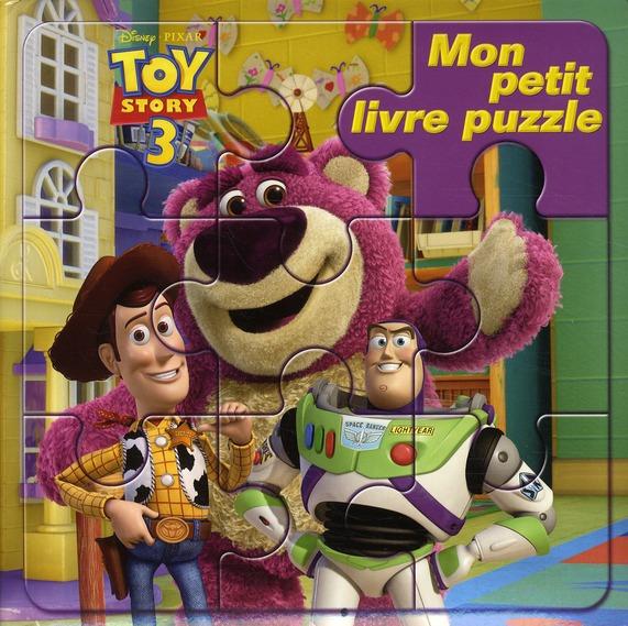 Mon Petit Livre Puzzle; Toy Story 3