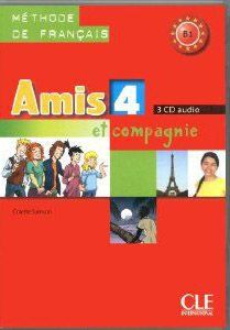 Cd Collectif Amis Et Compagnie Niveau 4 Methode De Francais 3 Cd Audio