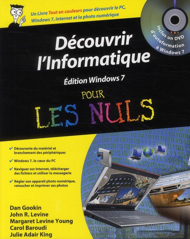 Decouvrir L'Informatique ; Edition Windows 7