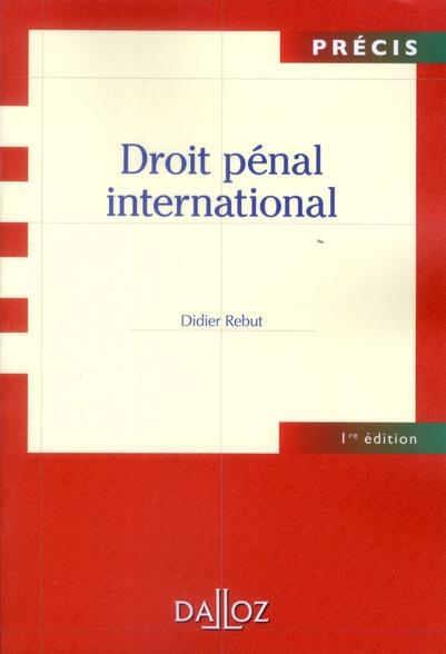Droit Penal International