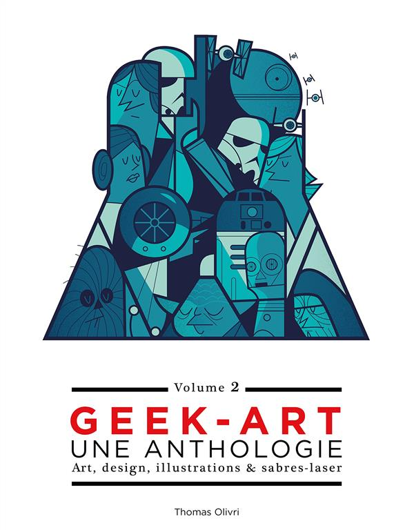 Geek-art, une anthologie t.2