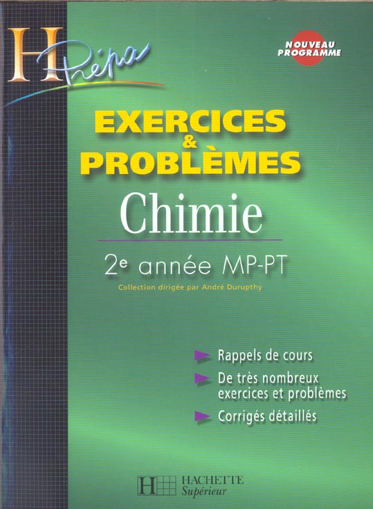 Chimie 2e Annee Mp/Pt -  Exercices Et Problemes