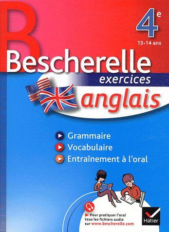 Bescherelle ; Anglais ; 4eme ; Cahier
