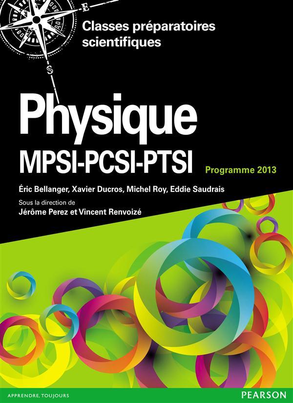 Physique ; Mpsi-Pcsi-Ptsi