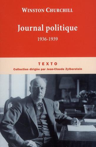 JOURNAL POLITIQUE 1936-1939