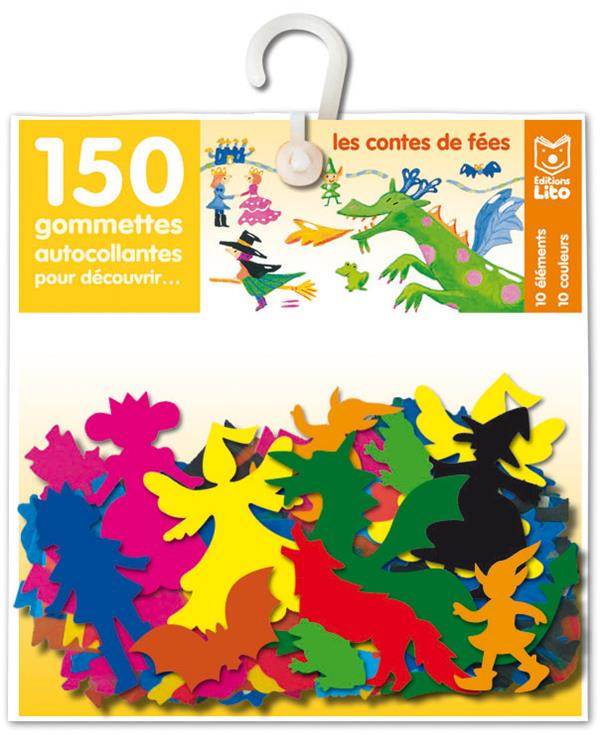 150 Gommettes Pour Decouvrir...; Les Contes De Fees