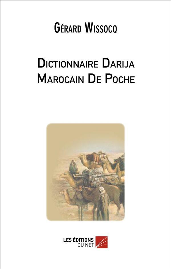 Dictionnaire Darija Marocain De Poche