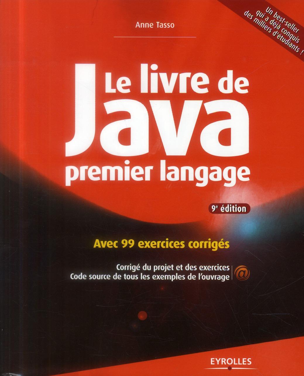 Le Livre De Java Premier Langage (9e Edition)