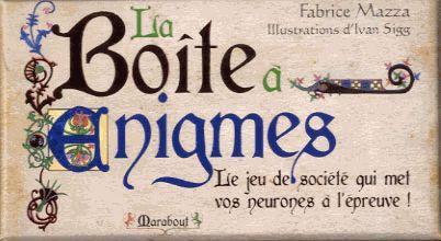 La Boite A Enigmes (Edition 2012)