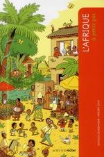 Couverture de A PETITS PAS ; l'Afrique noire