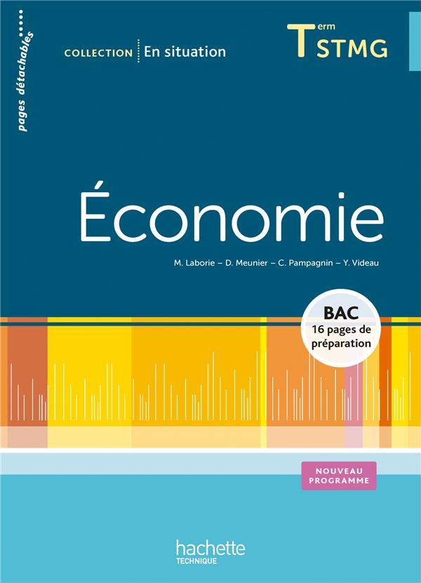 En Situation; Economie ; Terminale Stmg ; Livre De L'Eleve
