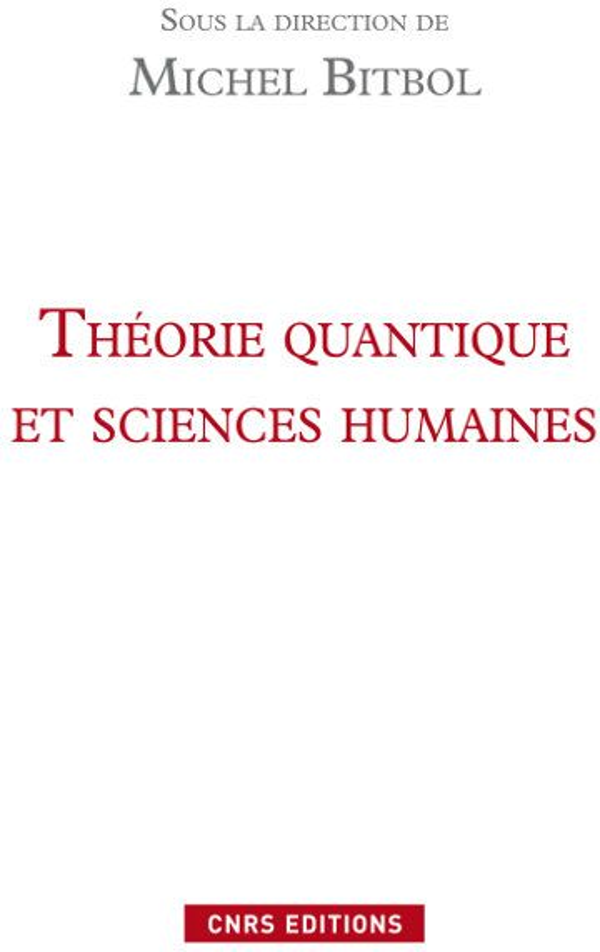 Theorie Quantique Et Sciences Humaines