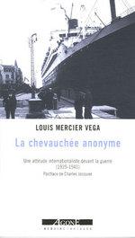 Couverture de Chevauchee Anonyme (La)