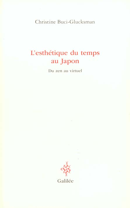 L'ESTHETIQUE DU TEMPS AU JAPON