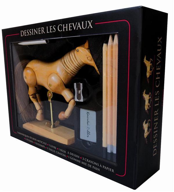 Dessiner Les Chevaux ; Coffret