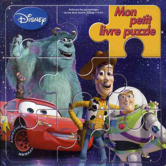 Mon Petit Livre Puzzle; Pixar