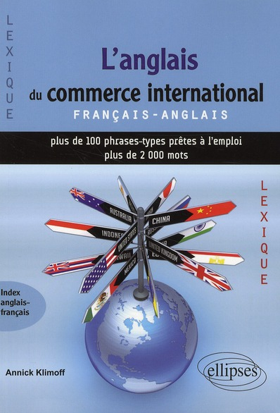 L'Anglais Du Commerce International ; Francais/Anglais