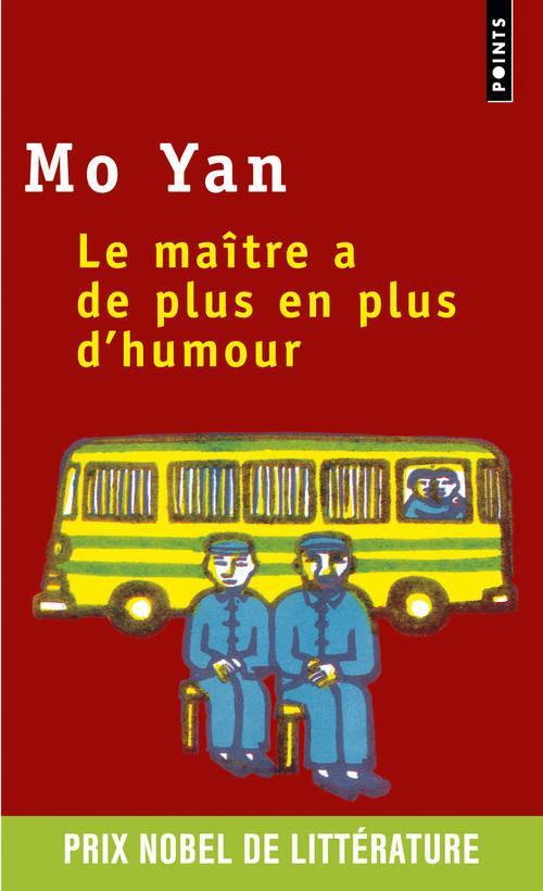 LE MAITRE A DE PLUS EN PLUS D'HUMOUR