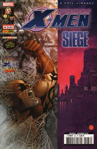Astonishing X-Men - Siege T.66