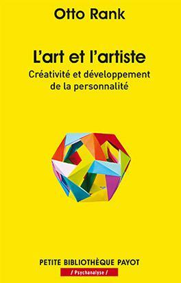 L'art et l'artiste ; créativité et développement de la personnalité